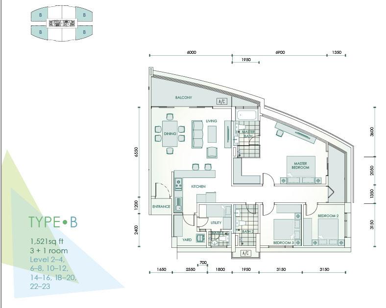 Cristal Residence Site Plan